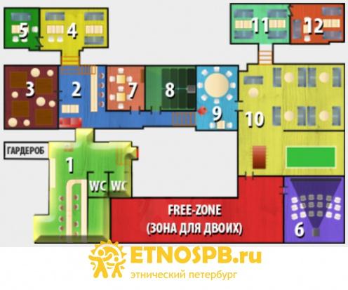 Квест 12 комнат